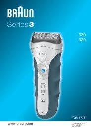 BRAUN Shaver 330 Series 3.indd