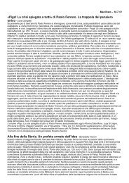 «Pigs! La crisi spiegata a tutti» di Paolo Ferrero. La trappola del ...