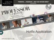 Hotfix Application Basics (PDF, 508Kb) - Create Your Style