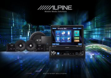 2011 SYSTEM SOLUTIONS - Alpine Electronics of Australia