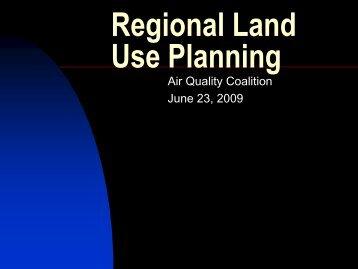 Regional Land Use Planning