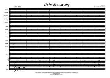 Little Brown Jug Published score - Lush Life Music