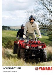 Grizzly 350 4WD - Yamaha Motor Europe