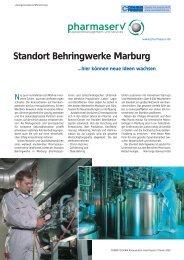 Standort Behringwerke Marburg - Pharmaserv