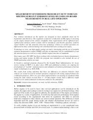 MEASUREMENT OF EMISSIONS FROM HEAVY DUTY ... - PFF