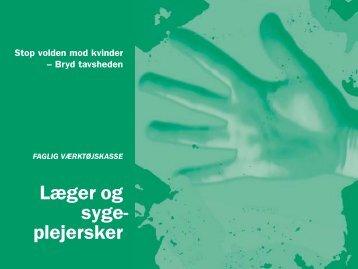 Læger og sygeplejersker - Socialstyrelsen