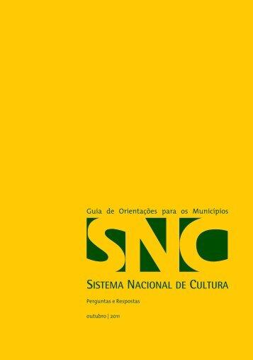 Guia de Orientações para os Municípios - Metas do Plano Nacional ...
