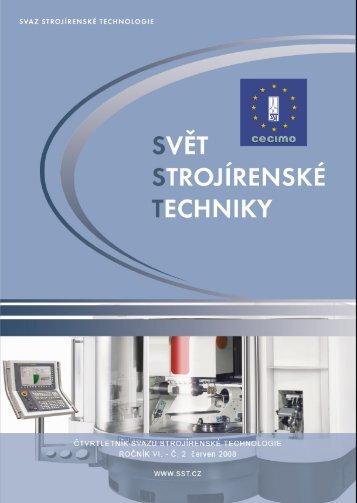 Svět strojírenské techniky číslo 2/2008 (PDF, 6.47 MB) - Svaz ...