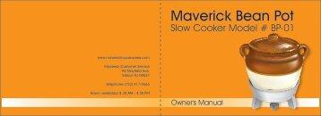 Maverick Bean Pot - Maverick Industries