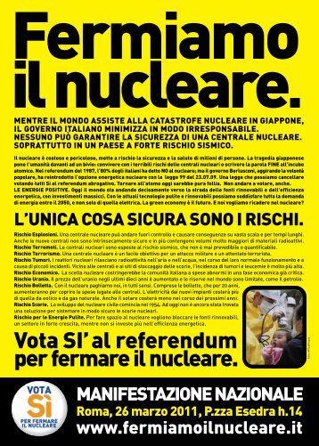 Scarica e diffondi il volantino - Greenpeace