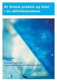 [pdf] At forene praksis og teori i en aktivitetsramme