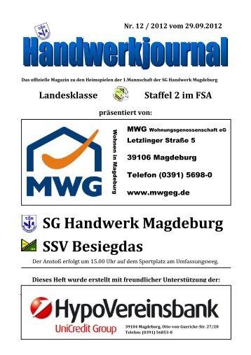 SG Handwerk Magdeburg SSV Besiegdas