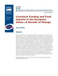Livestock Feeding and Feed Imports in the European Union—A ...