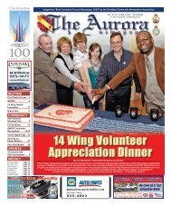 WEEKLY SECTION SPORTS COMMUNITY - The Aurora Newspaper