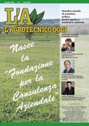 L'Agrotecnico Oggi gennaio 07 - Collegio Nazionale degli Agrotecnici