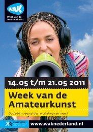Week van de Amateurkunst