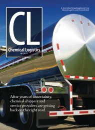 Chemical Logistics: Smart Strategies for ... - Inbound Logistics