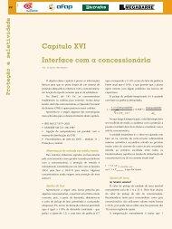 Capítulo XVI Interface com a concessionária - Revista O Setor Elétrico