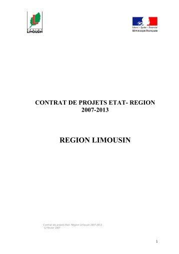 REGION LIMOUSIN - Centre Inffo