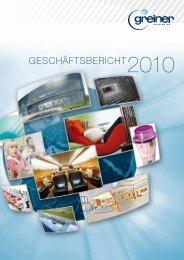 GESCHÄFTSBERICHT2010 - Greiner Bio One