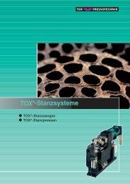 TOX®-Stanzsysteme - TOX PRESSOTECHNIK GmbH & Co.KG