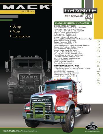 MACK MP7 - Bruckners Truck Sales