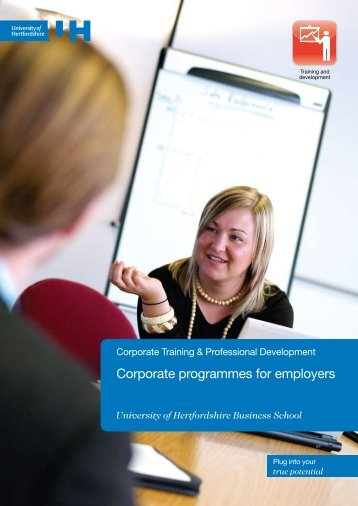 View the Corporate courses brochure (PDF - 0.65 Mb) - University of ...