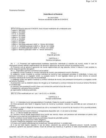 art 54 codul muncii