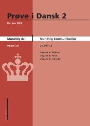 Mundtlig kommunikation - Ny i Danmark