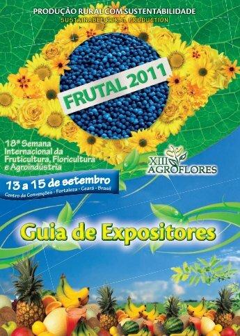 19074 - FRUTAL Guia de Expositores - 2011.indd