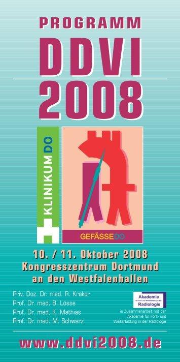 Programm DDVI 2008