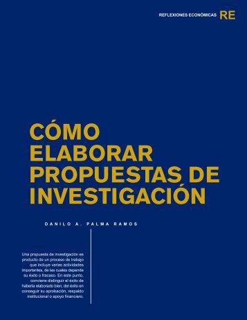 Cómo elaborar propuestas de investigación - Universidad Rafael ...