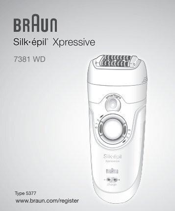 Xpressive - Braun Consumer Service spare parts use instructions ...
