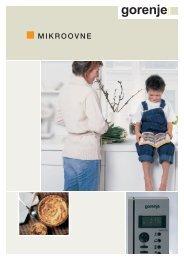 Mikroovn brochure dansk.qxd - Gorenje