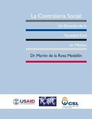 Final CONTRALORIA SOCIALjnLimpio - The International Center for ...