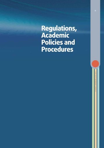 Regulations, Academic Policies and Procedures - Higher Colleges ...