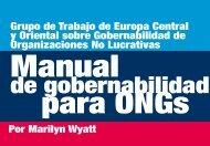 Manual de gobernabilidad para ONGs - The International Center for ...