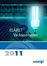 Elåret 2011 - Norrtelje Energi