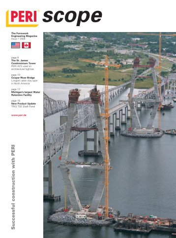 PERI GmbH, PERI scope 1/2004 - The Formwork Engineering ...