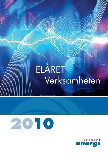 Elåret 2010 - Svensk energi