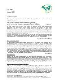 Anmeldung zur Generalversammlung 2012 in ... - Fahrclub Fehraltorf