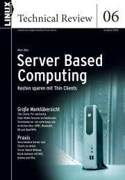 Download: LTR_06_Leseprobe.pdf - Linux-Magazin