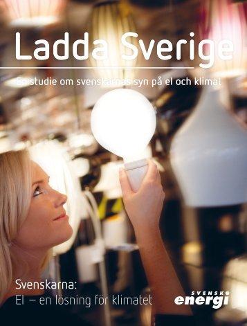 Ladda Sverige - Svensk energi