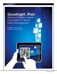 Goodnight, iPad: - Sunflower Systems