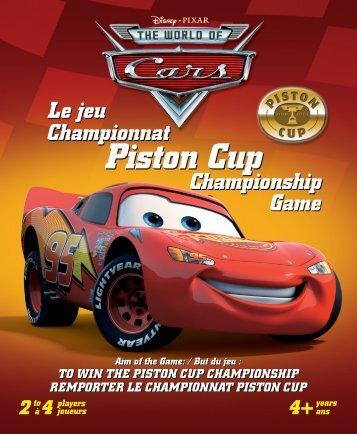 Championnat Piston Cup Championship Championnat ... -  Gladius