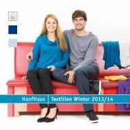 HanfHaus Textilien Winter 2013/14