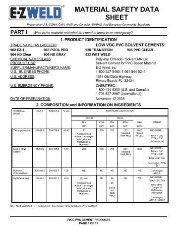 material safety data sheet xylocaine