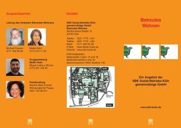 Betreutes Wohnen - Sozial-Betriebe-Köln