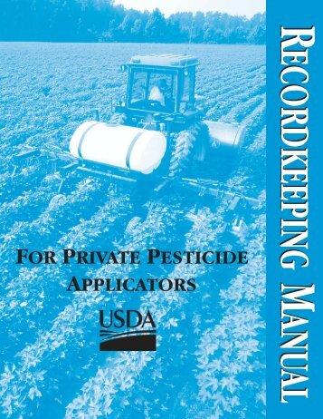 USDA Recordkeeping brochure (pdf) - Idaho Department of ...