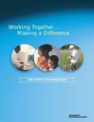 Abbott 2002 Global Citizenship Report - Abbott Laboratories